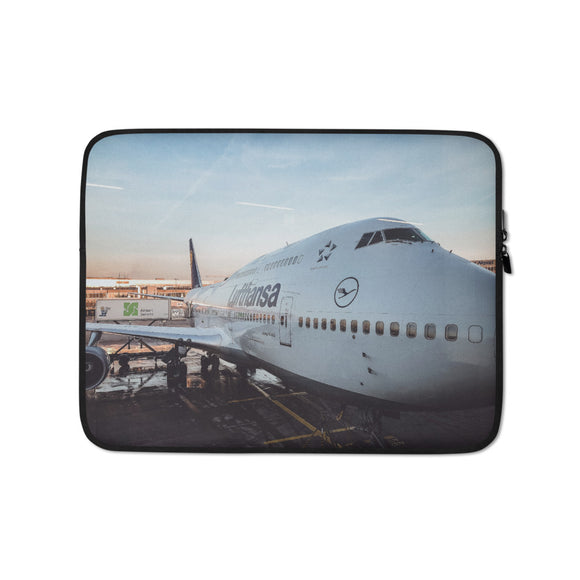 Lufthansa B747 Laptop Sleeve