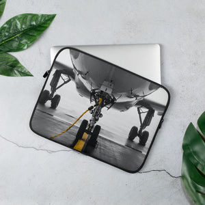 Front Wheels Laptop Sleeve