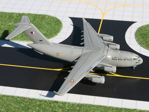 Qatar Air Force Boeing C-17 Globemaster -- 1:400 by Gemini Jets