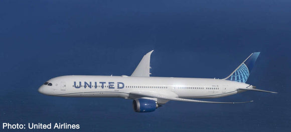 United Airlines Boeing 787-10 Dreamliner -- 1:500 by Herpa - craft747
