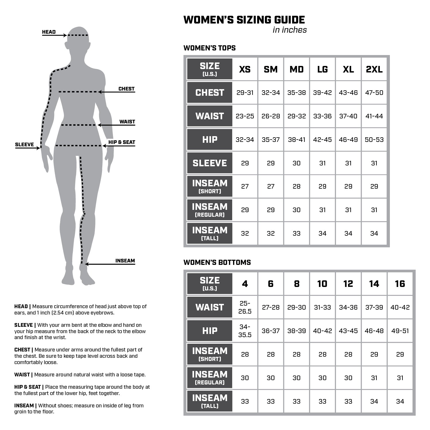 Apparel Size Chart Please use the below chart to help determine your size.  Since sizing and cuts will vary between brands, please use the chart as a general guide to compare the various size scales. If you have a specific sizing question or would like more information, please email me before purchasing!  The below sizes are listed in U.S. sizes unless otherwise noted.