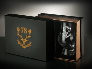 78th Highlanders Glencairn Whiskey Glass set