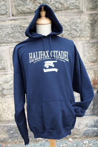 Halifax Citadel Hooded Sweatshirt - Navy