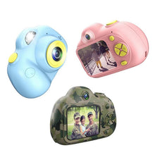 Load image into Gallery viewer, 2.0 Inch LCD Screen Double Lens ( Rear & Front Camera 1920*1080)  Selfie Digital Camera for Kids (BS-04)