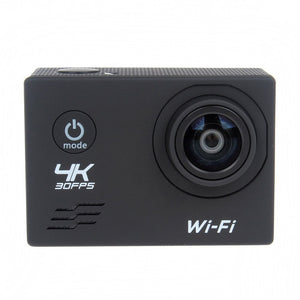 2.0 IPS Display Ultra HD Wifi Wide Agle Lens Sport Action Camera Black (BS-23)
