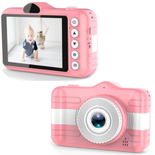 Load image into Gallery viewer, Double Lens Digital Camera 3.5 inch IPS Display for Kids (CN-02)