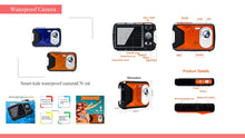 Load image into Gallery viewer, 2.0 Inch TFT Display Screen Waterproof Digital Camera for Smart Kids (BS-16)