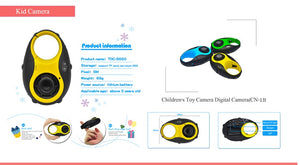 1.5 Inch TFT Display Screen Children's Toy Digital Camera