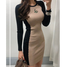 Load image into Gallery viewer, Women's Casual Long Sleeve T Shirt Dress