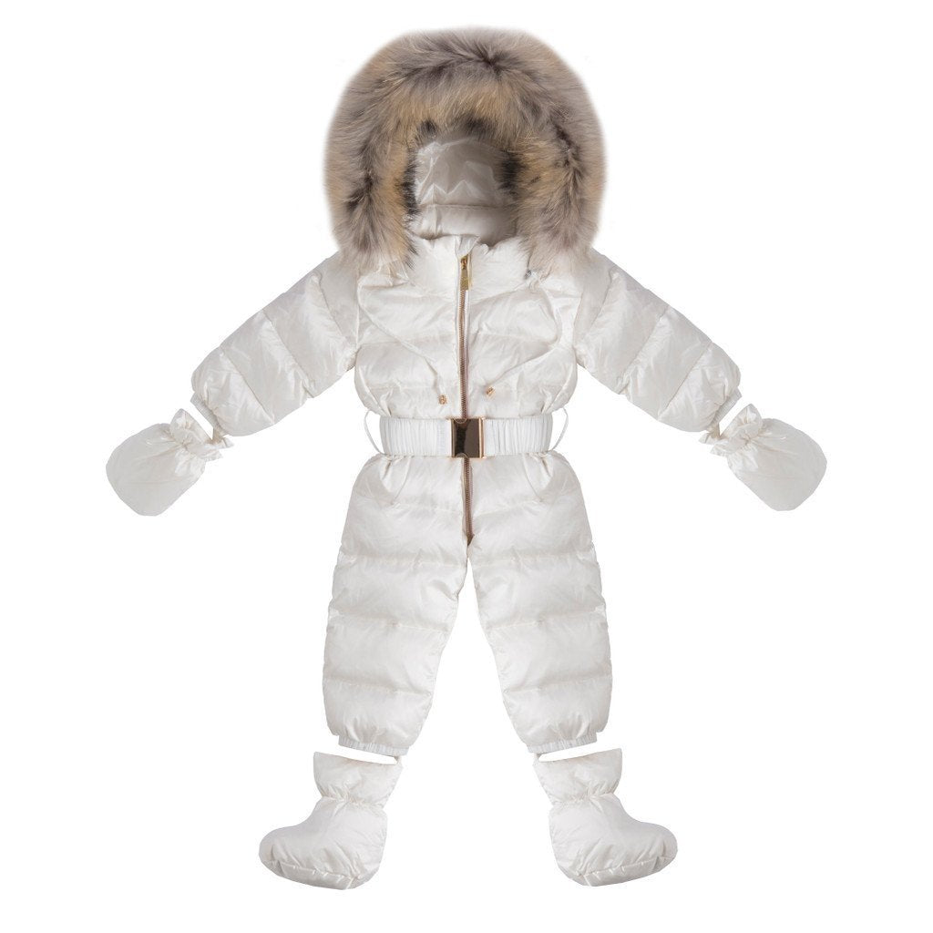 Winter Down Suit With Fur(No Real Fur) Special Offer