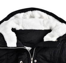 Load image into Gallery viewer, Winter Women Warm Parkas Hooded Thick Plush Winter Coats