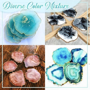 Crystal Resin Coaster DIY Kit