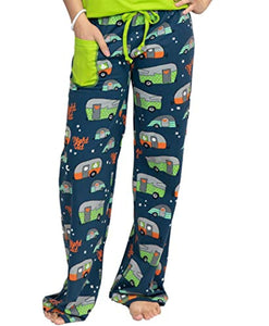 Lazy One Fitted Pajamas for Women, Cute Pajama Pants and Top Set, Separates