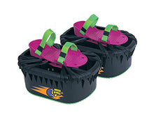 Load image into Gallery viewer, Big Time Toys Moon Shoes Bouncy Shoes - Mini Trampolines For your Feet - One Size, Black, New and improved