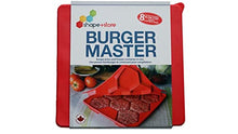 Load image into Gallery viewer, Burger Master 8-in-1 Innovative Burger Press, 8-Patty