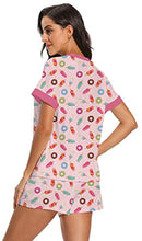 Load image into Gallery viewer, Womens Pajama Sets Summer Short Sleeves Pjs Sleepwear with Pockets
