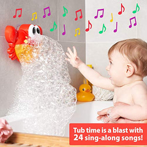 Crab Bubble Bath Maker for The Bathtub for Toddler Adult