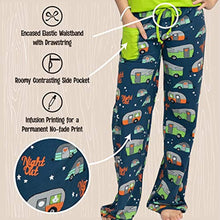Load image into Gallery viewer, Lazy One Fitted Pajamas for Women, Cute Pajama Pants and Top Set, Separates