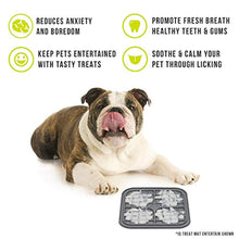 Load image into Gallery viewer, Hyper Pet Licking Mat for Dogs & Cats - IQ Treat Mat | Made in USA | Calming Mat for Anxiety Relief & Boredom Buster. Fun Alternative to Slow Feeder Dog Bowls & Snuffle Mat | Just Add Healthy Treats