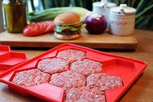 Burger Master 8-in-1 Innovative Burger Press, 8-Patty