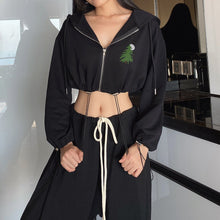 Load image into Gallery viewer, Women's Long Sleeve Zip Up Hoodie Drawstring Jacket Casual Pockets Sweatshirt