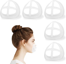 Load image into Gallery viewer, 3D Mask Bracket for Comfortable Mask Wearing by Creating More Space for Breathing Ideal Makeup Saver