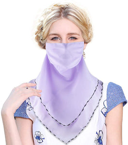 Cool Bandanas for Women Girls, Reusable Cloth Washable Face Scarf Mouth Covers
