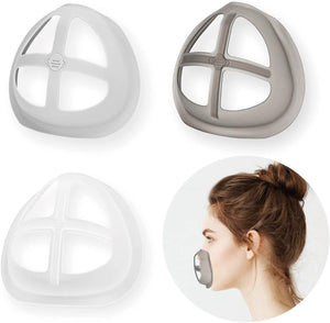 Face Mask Inner Support Frame Homemade Cloth Mask Cool Silicone Bracket More Space for Comfortable Breathing Washable Reusable
