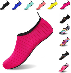 Mens Womens Water Shoes Barefoot Beach Pool Shoes Quick-Dry Aqua Yoga Socks for Surf Swim Water Sport