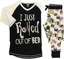 Load image into Gallery viewer, LazyOne Women's Soft Casual Pajama Leggings and Tall Tee Sets with Cute Fun Prints