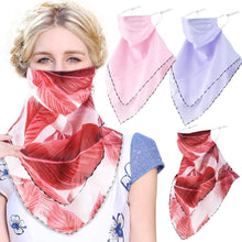 Load image into Gallery viewer, Cool Bandanas for Women Girls, Reusable Cloth Washable Face Scarf Mouth Covers