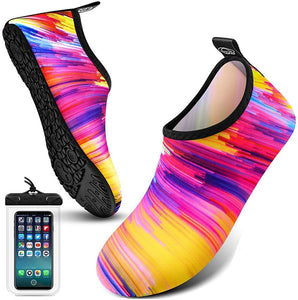 Water Shoes for Women and Men,Water Socks for Women Barefoot Quick-Dry Aqua Yoga Socks, Slip-on for Outdoor Beach Swim Sports Yoga Snorkeling