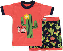 Load image into Gallery viewer, Lazy One Short Sleeve Tee and Short Summer PJ Sets for Girls and Boys | Kids Pajama Sets