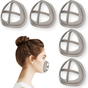Silicone 3D Mask Bracket for Comfortable Mask Wearing by Creating More Space for Breathing Ideal Makeup Saver