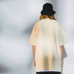 Creativity Graphic Boyfriend Tee Drop Shoulder Tee Oversize