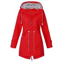 Load image into Gallery viewer, Jacket female autumn with long zipper hiking climbing cycling jacket female coat outwear plus size