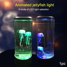 Load image into Gallery viewer, Bedside Lamp Aquarium LED Night Light