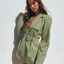 Load image into Gallery viewer, Darlingaga Fashion Elegant Solid Long Women's Trench Coat Pockets Ladies Autumn Winter Windbreaker Trench with Belt Outwear 2020