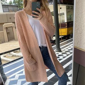 patchwork striped cardigan blouses female long sleeve batwing boho casual crochet oversized knit sweater coat female