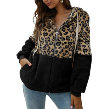 Load image into Gallery viewer, Puimentiua winter coat female top long sleeve hooded warm autumn jacket