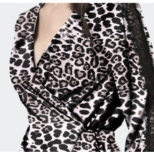 Load image into Gallery viewer, Long Sleeve V-neck Top Sashes Tie Cardigan Shirt Ladies Sexy Slim Spring Autumn Blouses