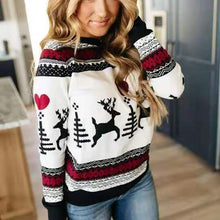 Load image into Gallery viewer, NEW Hot Sale Elegant Women Sweater Tops Coat Christmas Winter Fashion Casual Ladies Girls Warm Soft Brief Sweaters