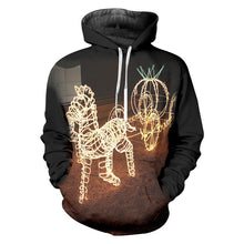 Load image into Gallery viewer, Winter Man Animal Pullover 3D Christmas And Santa Claus Hoodies Printed Oversized 5XL Clothes Men's New Coat