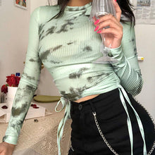 Load image into Gallery viewer, long sleeve sexy streetwear summer clothes
