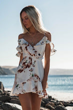 Load image into Gallery viewer, Women Boho Floral Dress Chiffon Summer