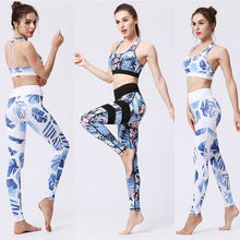 Load image into Gallery viewer, gym sleeveless fitness crop top + high waist seamless energy leggings jun 1st