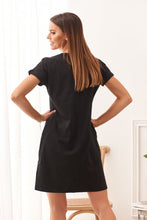 Load image into Gallery viewer, Cotton dress with a longer back