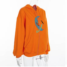 Load image into Gallery viewer, Women's Long Sleeves Orange Shirt