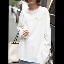 Load image into Gallery viewer, Women's fashion White Long Sleeve Shirt Tops