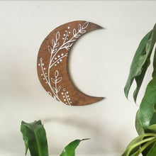 Load image into Gallery viewer, Crescent moon wall art